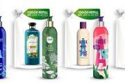 Šampony v opakovaně plnitelných lahvích na českém trhu
