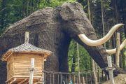 Dolní Moravu stráží obří mamut o velikosti třípatrového domu