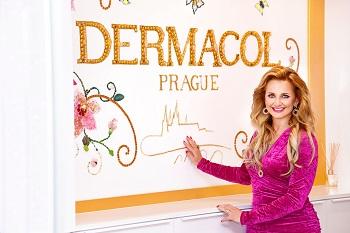 1 Věra Komárová v novém sídle Dermacol foto Dermacol repro zdarma