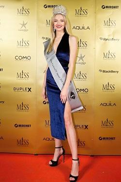 5 Kristýna Malířová čerstvá držitelka světového titulu Miss Fashion TV Teen 2018