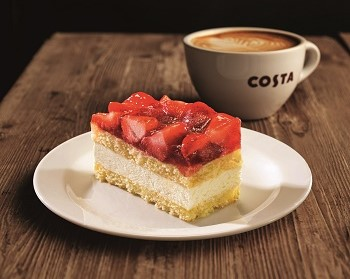 Costa Coffee STRAWBERRY CAKE m 2