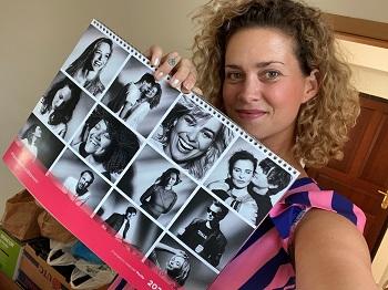 Katka je z VIP první která uviděla kalendář