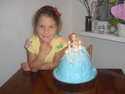 Natalka po lecbe 6. narozeniny