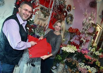 Pavel Hruška a Sabina Laurinová