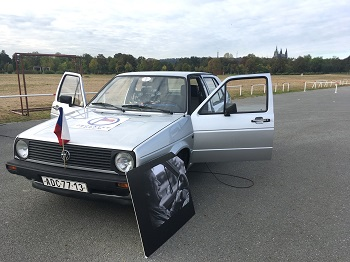 VW Golf prezidenta Vaclava Havla