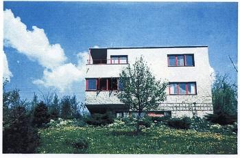 Vila z počátku 40. letzdroj Muzeum jihovýchodní Moravy ve Zlíně