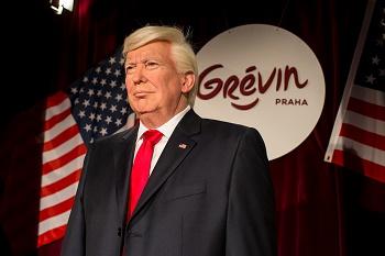 Vosková socha Donalda Trumpa Grévin Praha 2