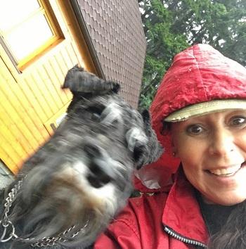 Heidi ani Edovi déšť v Beskydech nevadil 2