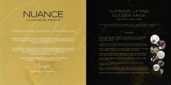 Nuance Golden Mask Leták